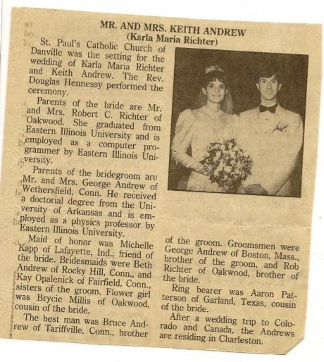 My Wedding Announcement