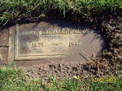 Sarah Kinsey tombstone