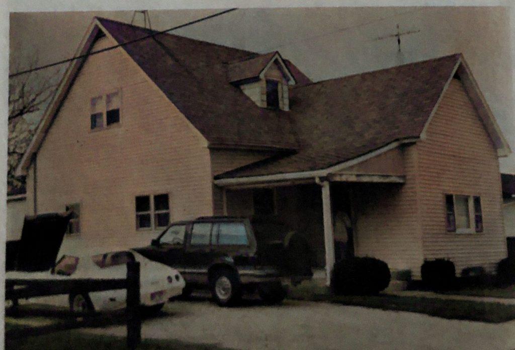 Delbert Meade Home -taken approx 1985