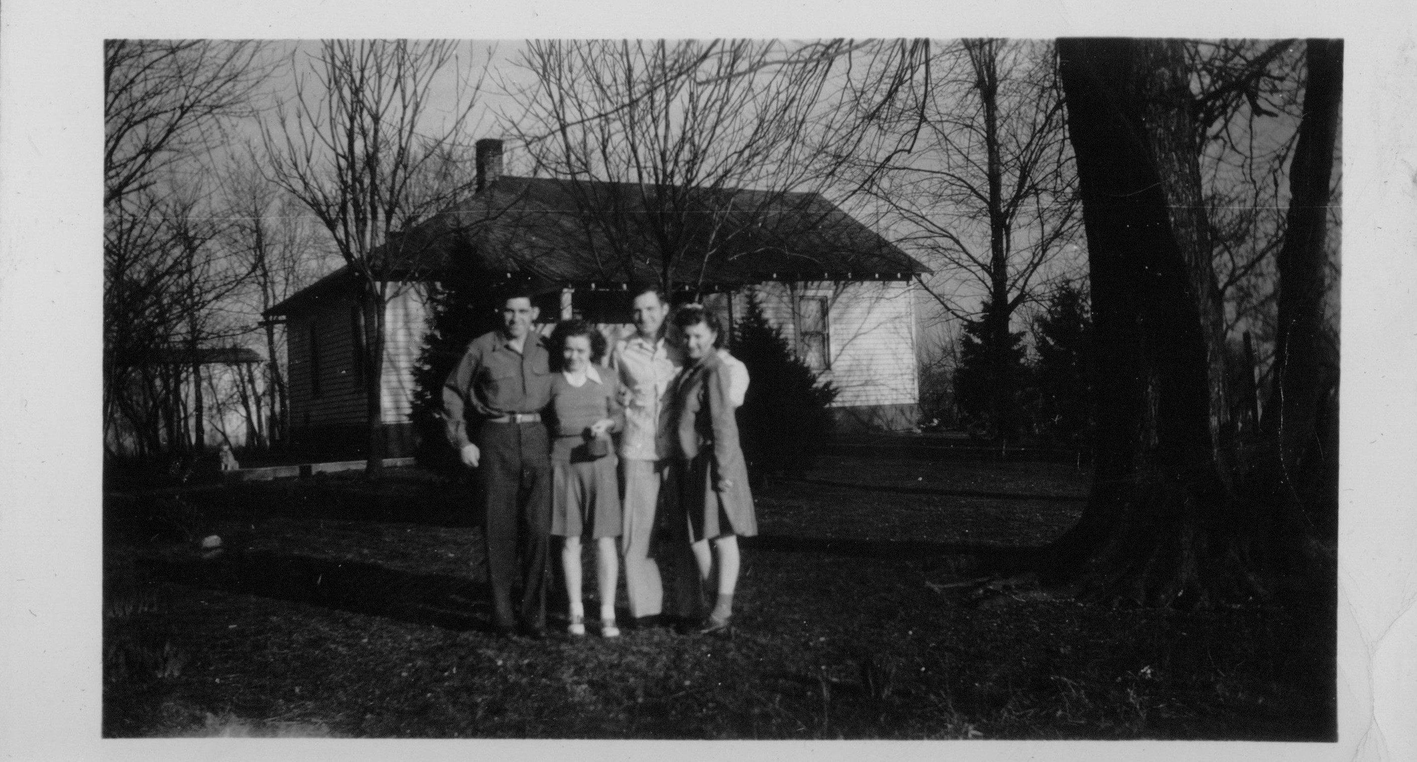 Frank, Tootie, Howard, and Juanita Cheuvront