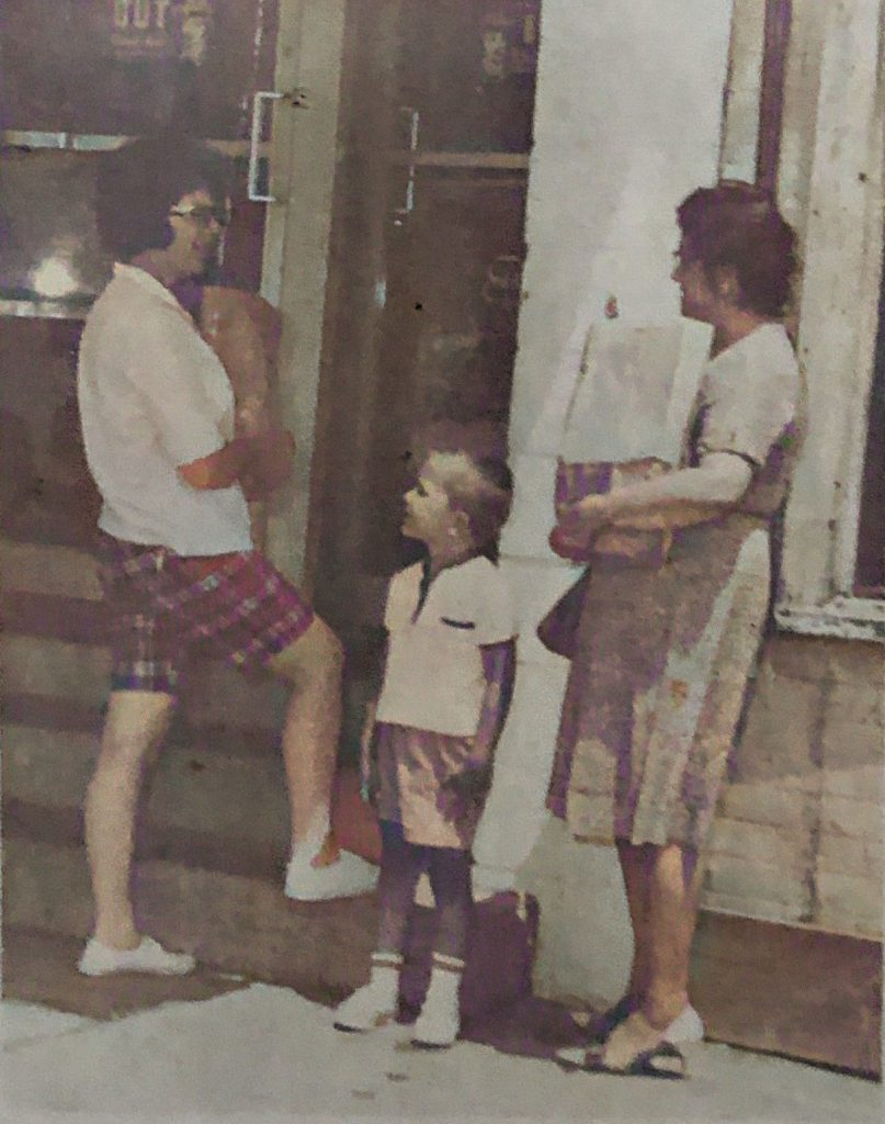 Ruth and David Cox and Sara Andrews