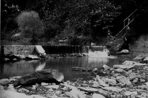 stoney creek dam 1929by OHS