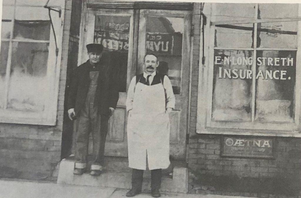 Jim Fahey and Newt Longstreth