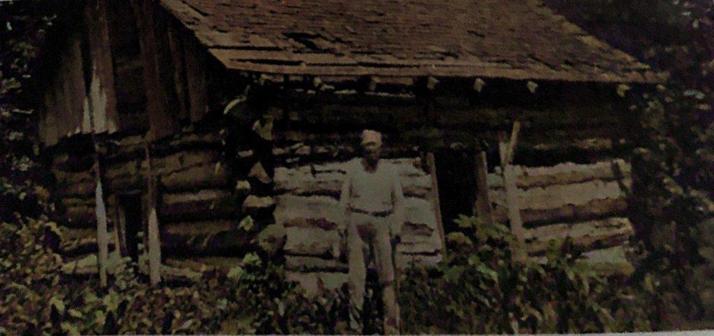 Last Log Cabin in Oakwood Township