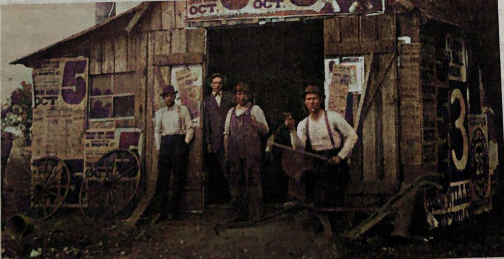 Overmeiers Newtown Blacksmith Shop - 1917