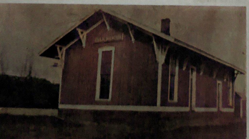 Oakwood Train Depot