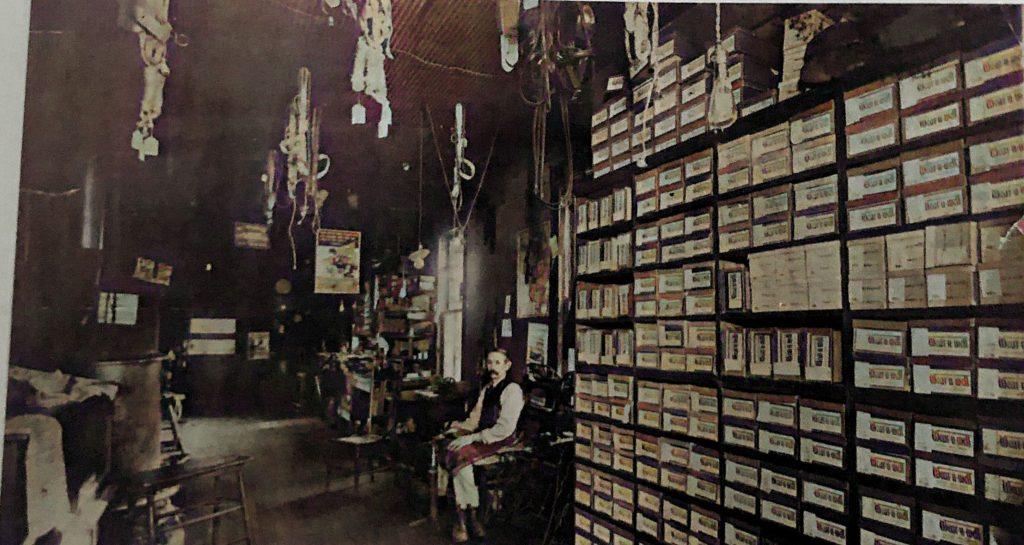Newt Longstreth in Harness Shop