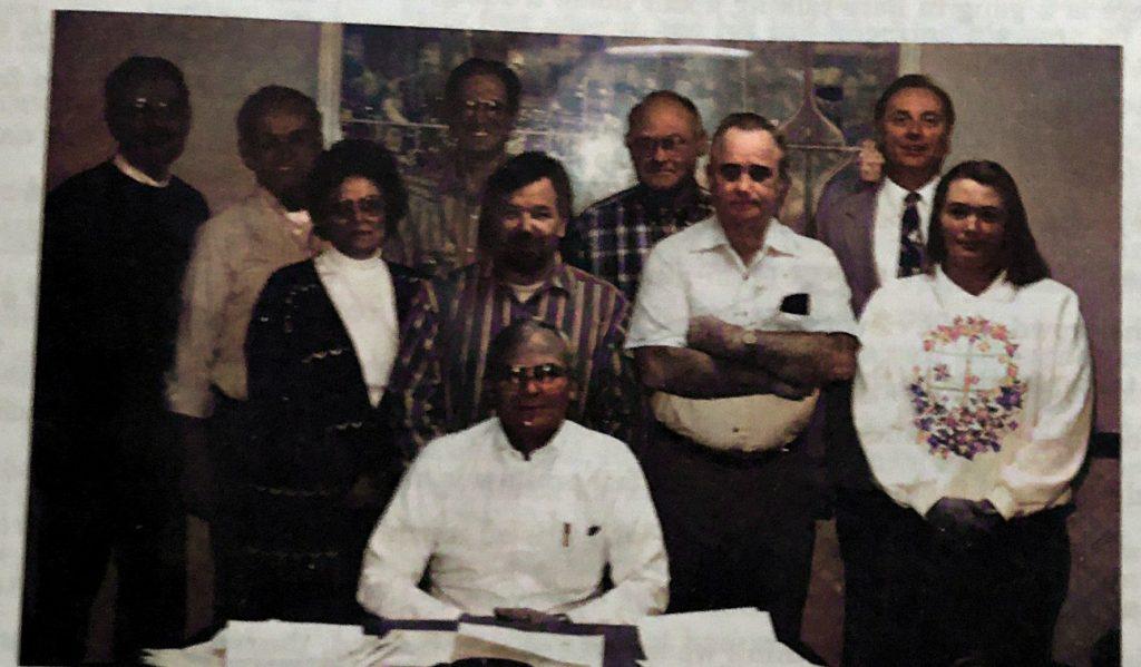 Village Board Members 1995