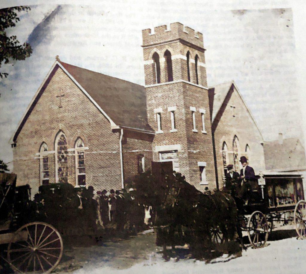 Funeral at Oakwood Methodist Church