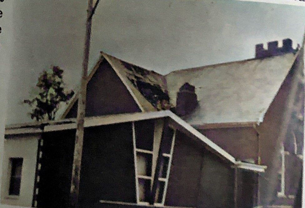 Wind and Storm damage, 1977