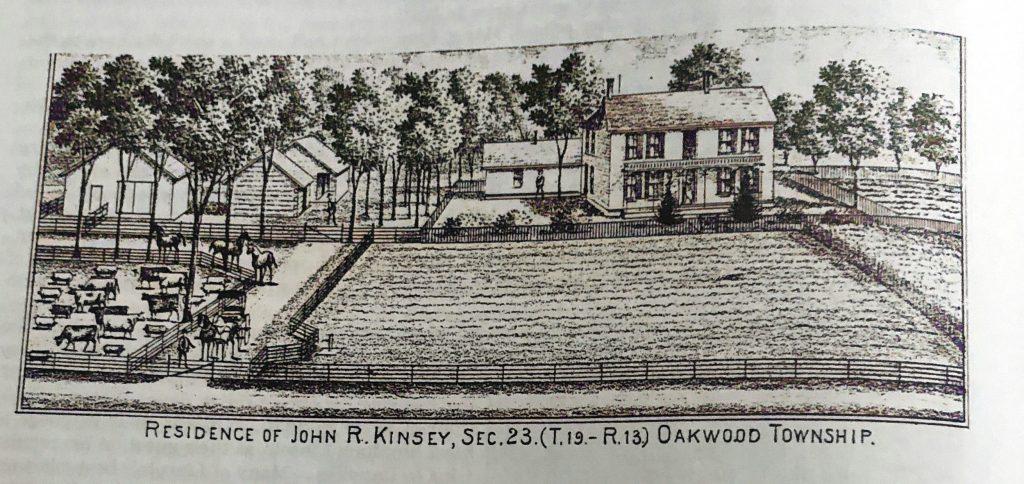 Residence of John R Kinsey