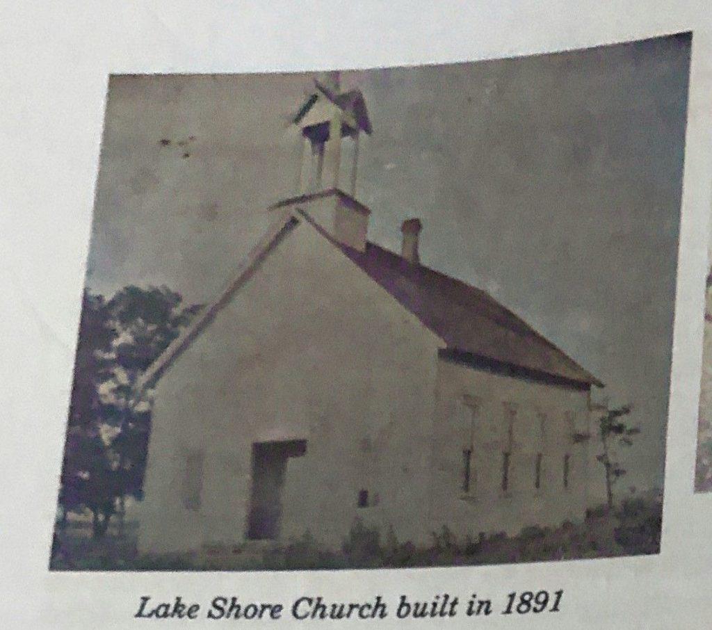 Lake Shore Church built in 1891