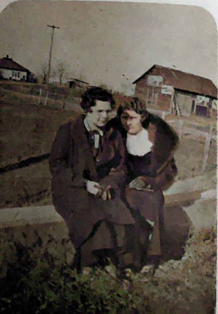 Ethel Oakwood and L. Collins