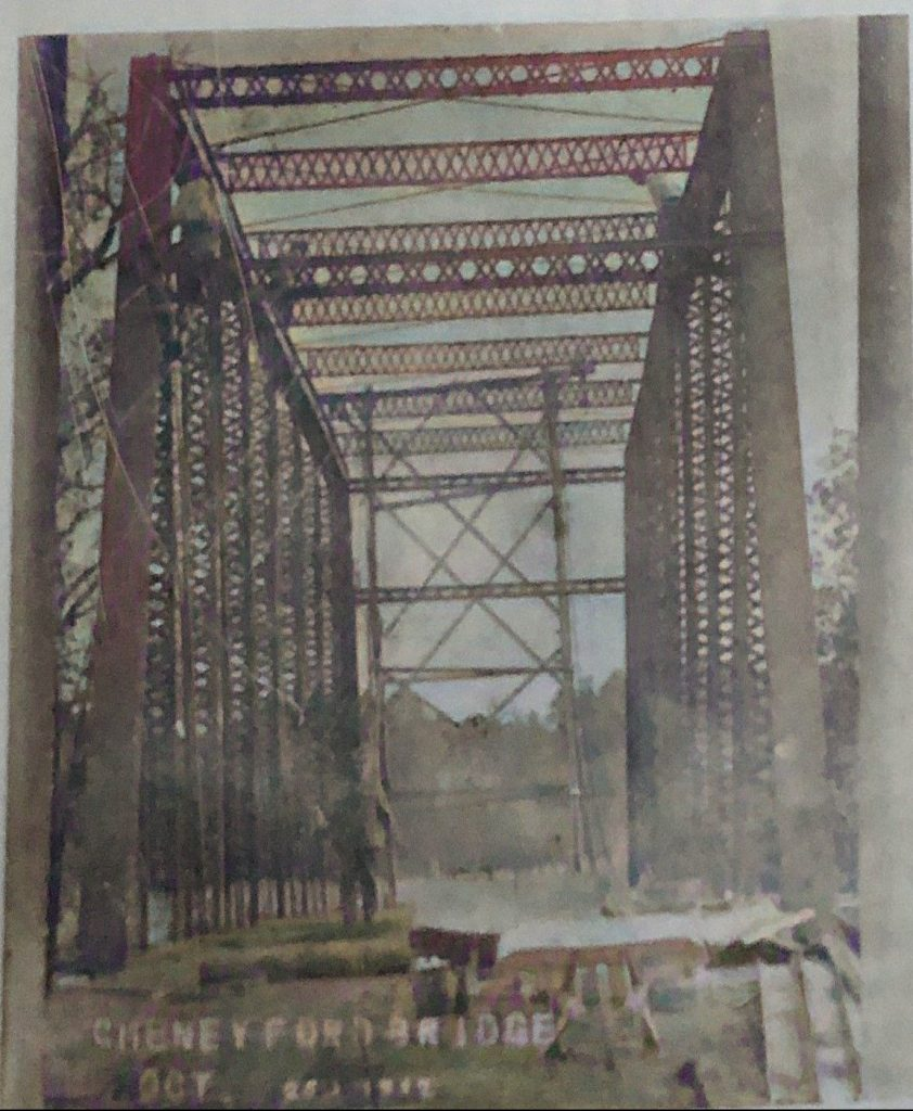 Cheney Ford Bridge