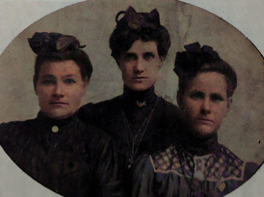 Lou Hughes, Amy Hughes Woodard, Molly Hughes Boyer