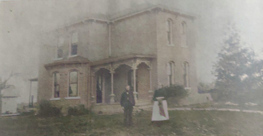 Home of Mr and Mrs Abraham Illk