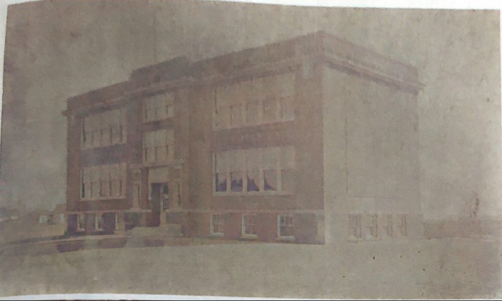 Oakwood Grade and High School Early 1900s