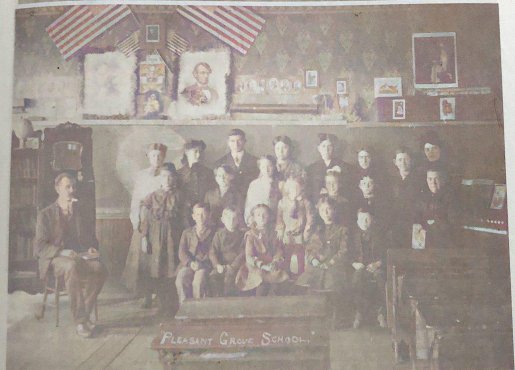 Pleasant Grove School, December 11.1905.