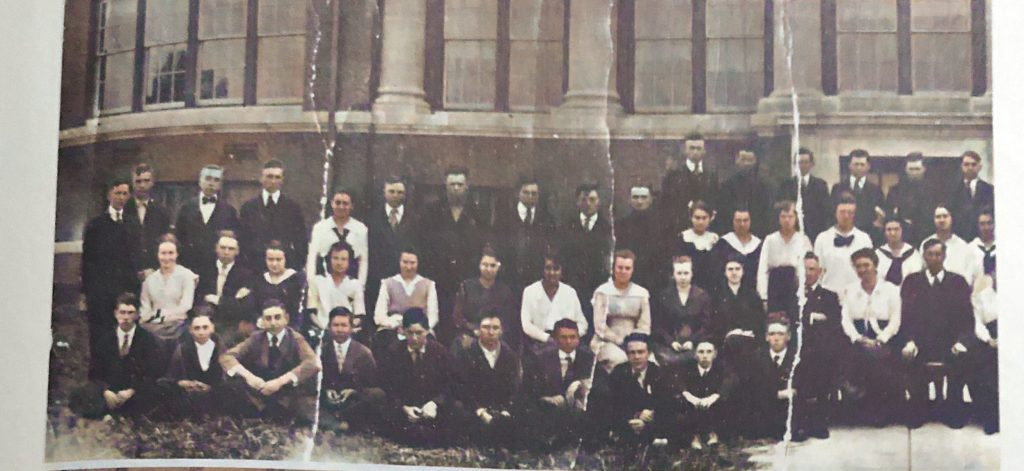 Oakwood Township High School 1918
