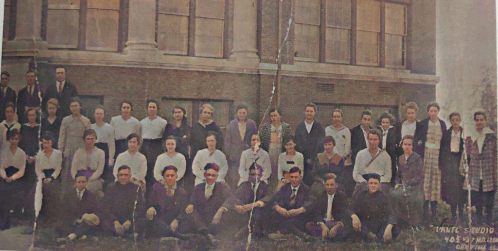Oakwood Township High School -1918