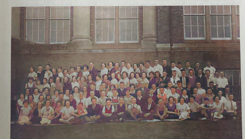 Oakwood Township High School - 1932 - Total Enrollment