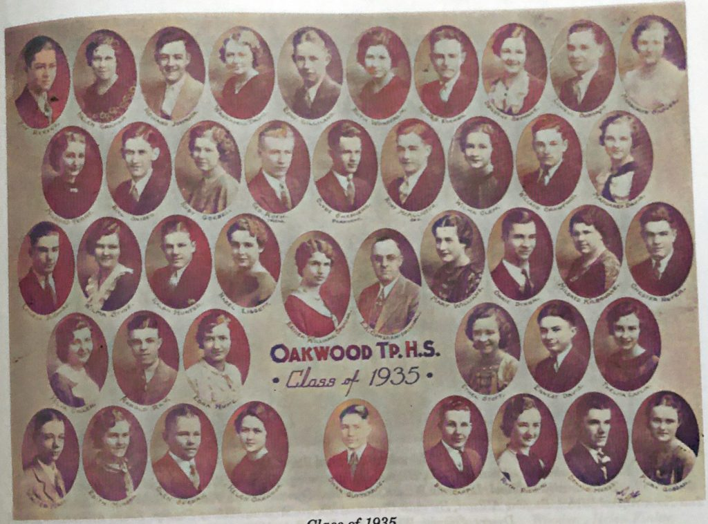OHS Class of 1935