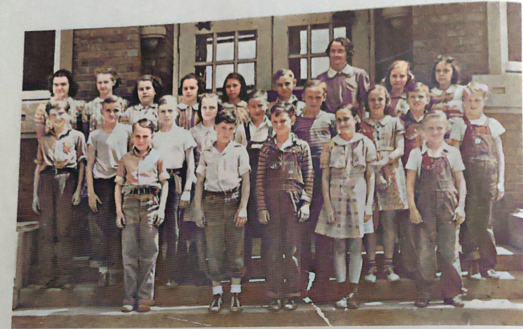 Oakwood Grade School 5th and 6th Grades 1940s