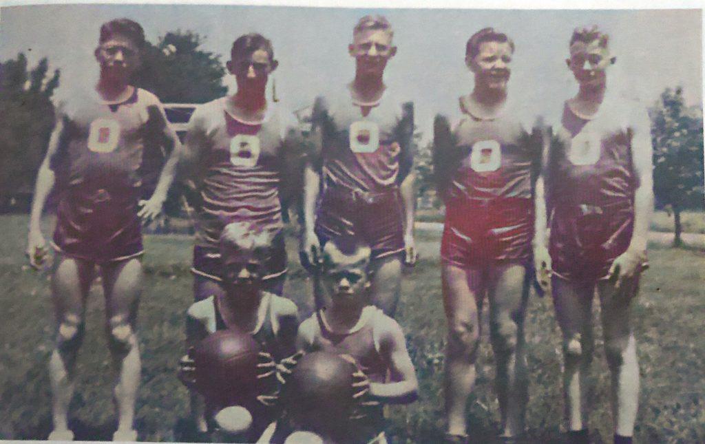 OGS Basketball Team 1943-1944