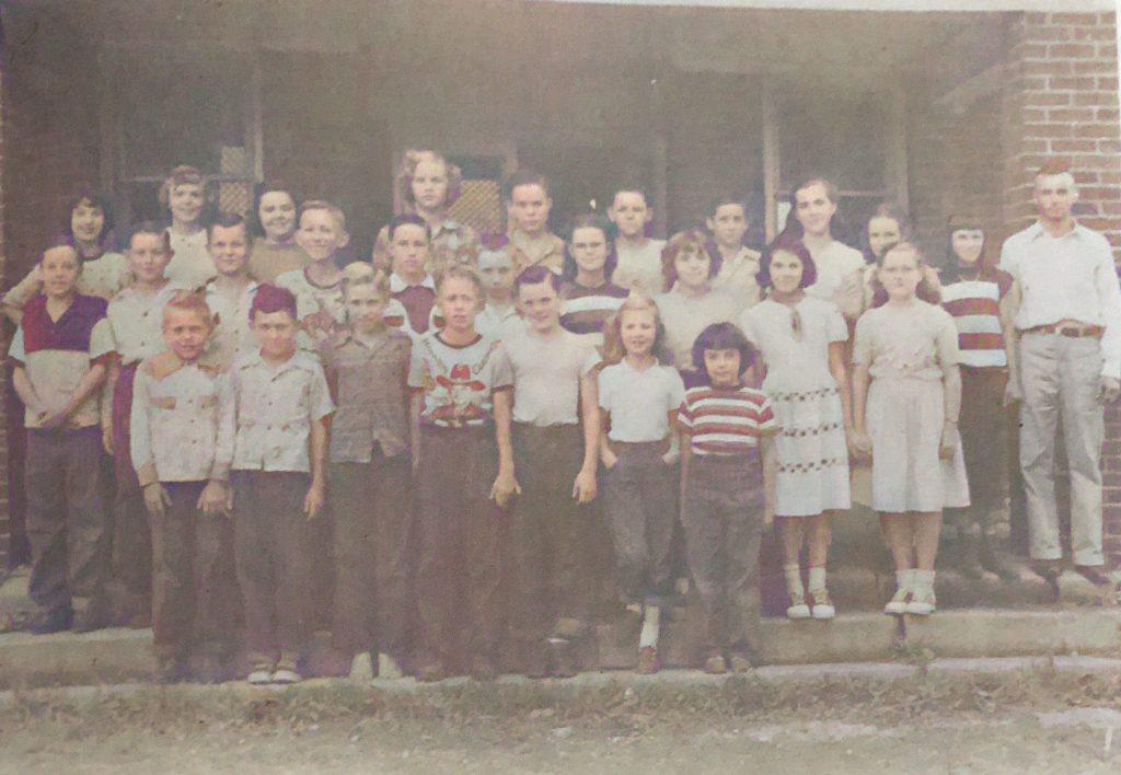 Lakeshore Grade School 5th, 6th, 7th, and 8th Grades 1950