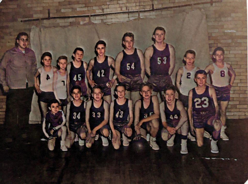 Little 6 Basketball Champions 1953