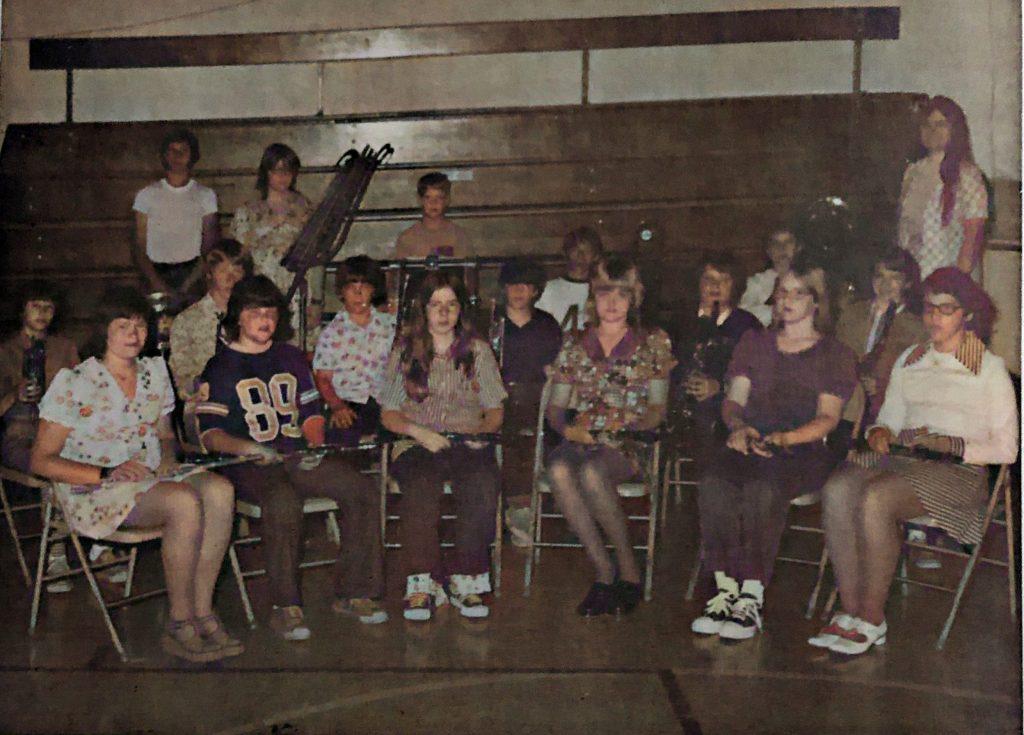 Oakwood Grade School Band 1974