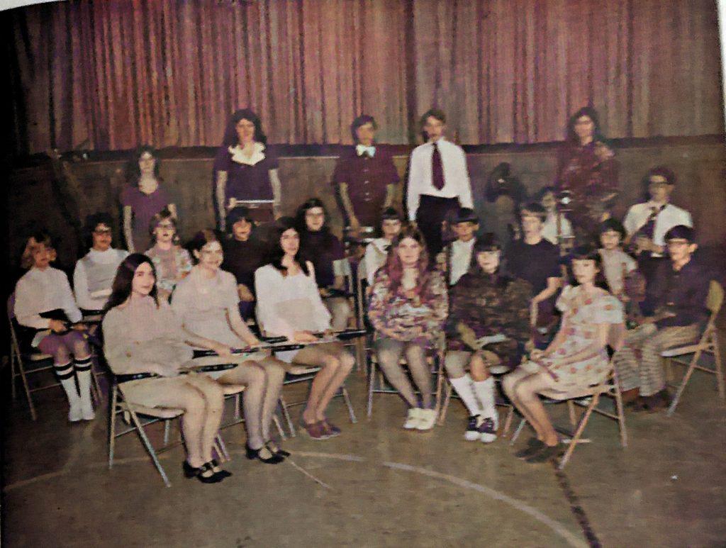 Oakwood Grade School Band 1975