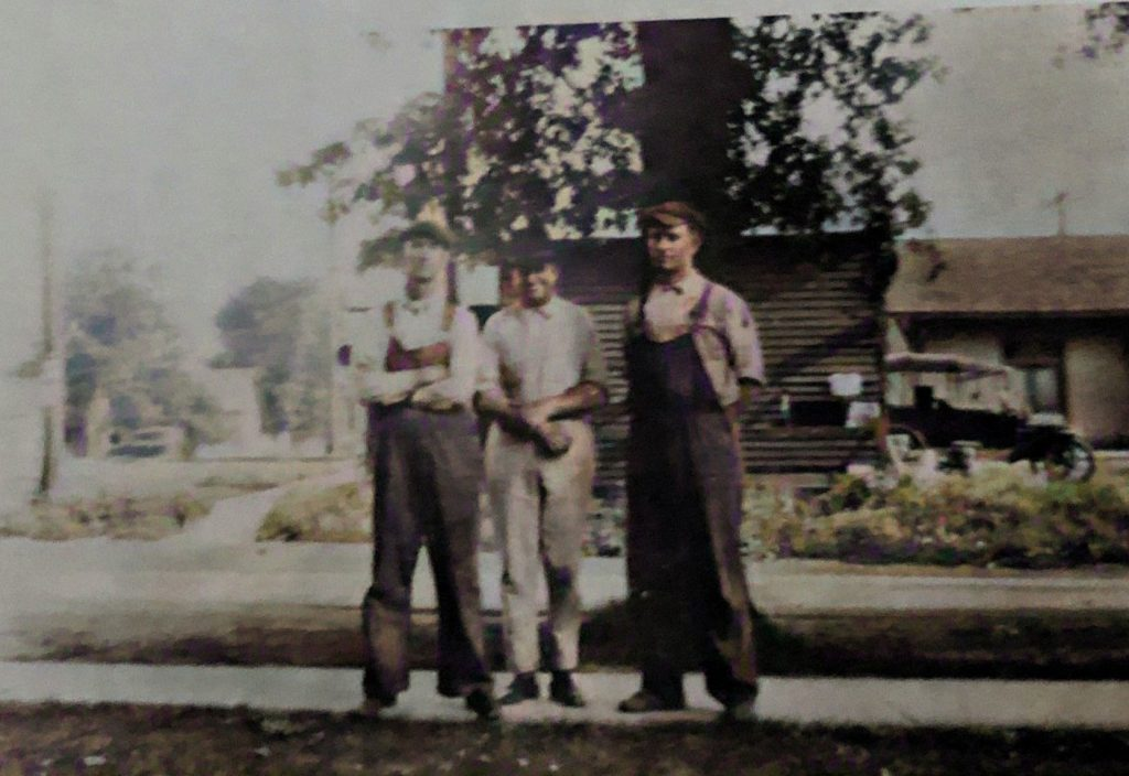Harry Quick, John Ginther and Hollis Howard