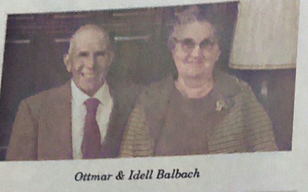 Ottmar and Idell Balbach