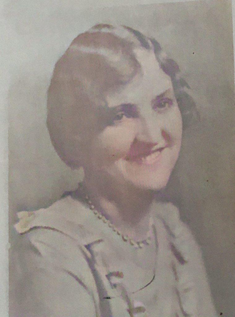 Edith Marie Wainwright Warner