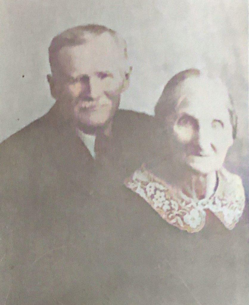 James Henry and Mary Alice Sampson Wainwright